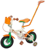 Bike with push handle to Hire